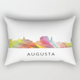 Augusta Georgia Skyline Rectangular Pillow