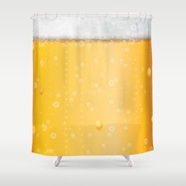 beer lovers Shower Curtain