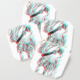 Glitch gag Coaster