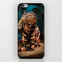 bioshock infinite iPhone & iPod Skins featuring Bioshock by Emily Blythe Jones