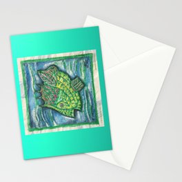 Counter Fish Stationery Cards