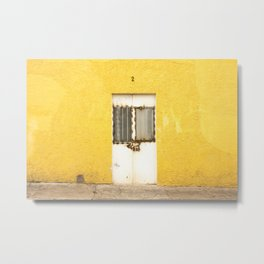 Amarillo Door #2 Tala, MX Metal Print