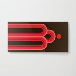 Abstraction_SUN_Rainbow_ART_Minimalism_001B Metal Print