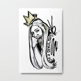 #STUKGIRL MADISEN Metal Print