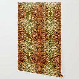 Abstract #1 - III Vibrant Orange Wallpaper