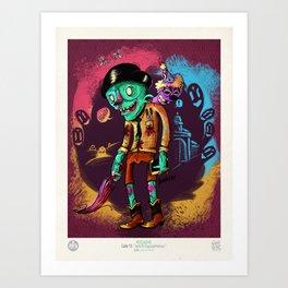 John el Esquizofrénico Art Print