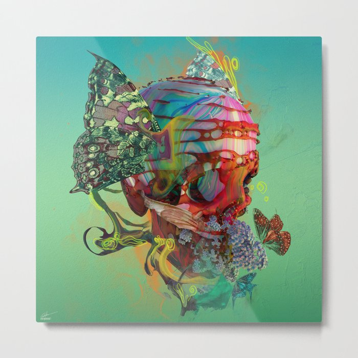 Magic Within Metal Print
