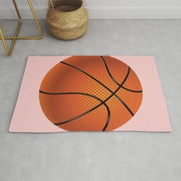 Basketball Ball Rug