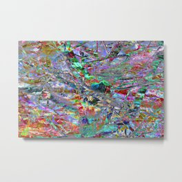 Technicolour: Two Metal Print