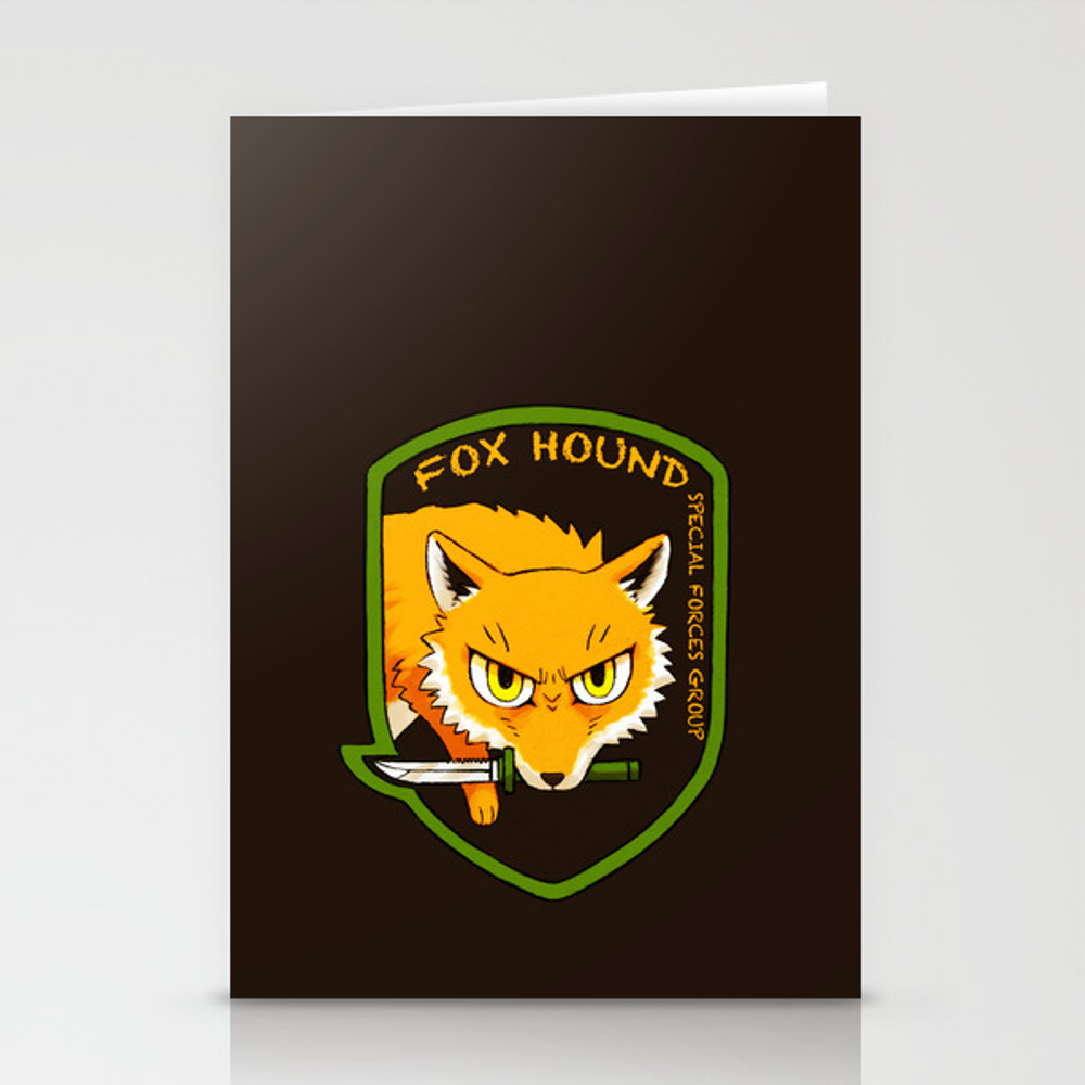 Metal Gear Solid - Chibi Foxhound Stationery Cards by Feriowind CRD990429