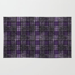 Classical cell in purple tones. Rug