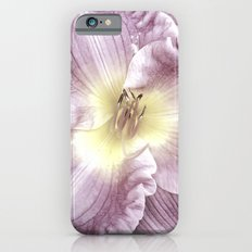 Pink Lilies Slim Case iPhone 6s
