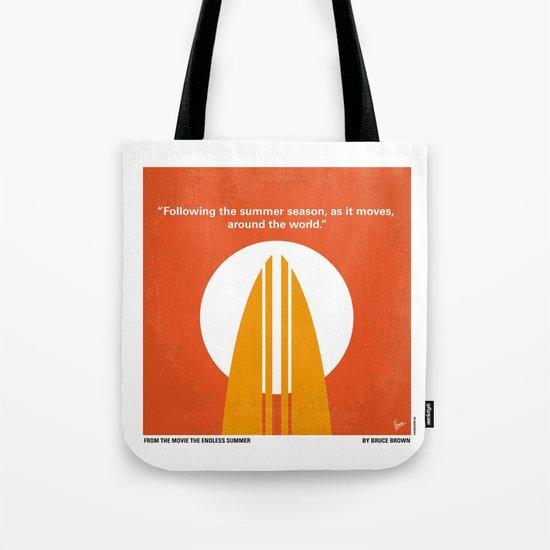 No274 My The Endless Summer minimal movie poster Tote Bag