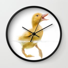 Duckling Wall Clock
