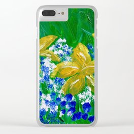 """""""Spring Mix"""" Clear iPhone Case"""