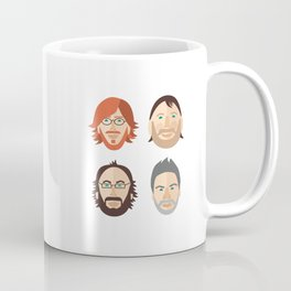 Trey, Fish, Mike, Page as Vector Characters Coffee Mug