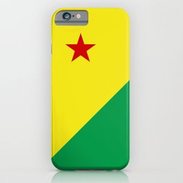 flag of Acre iPhone Case