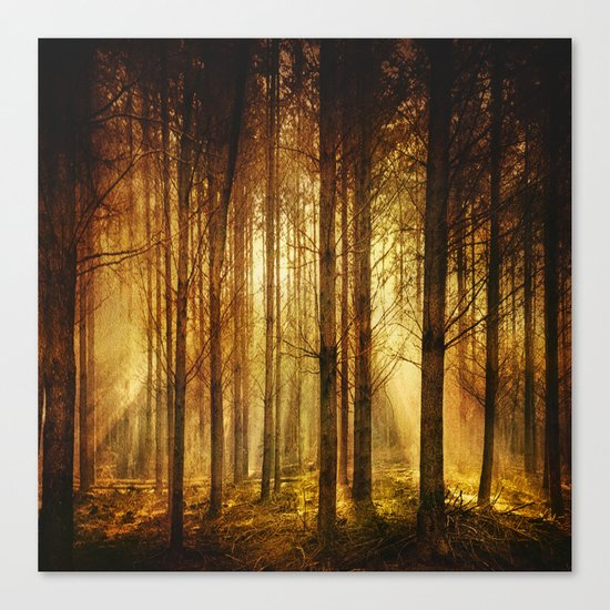 Golden Nature. Canvas Print