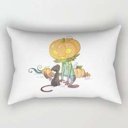 Little jack-o'-lantern Rectangular Pillow