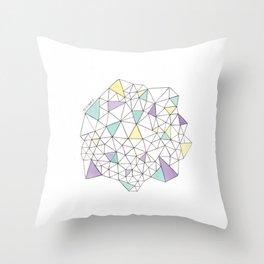 Triangles N2 Throw Pillow
