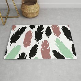 Feather flash Rug