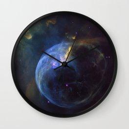 The Bubble Nebula NGC 7653 Wall Clock