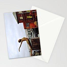 She Flies Across Belfast Stationery Cards