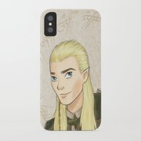 legolas iPhone & iPod Cases featuring Legolas by Joan Pons