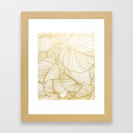 Wilderness Gold Framed Art Print