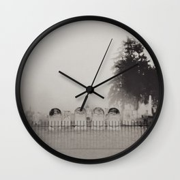 Old Cemetery Wall Clock
