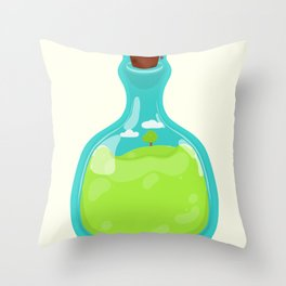 Save the planet. Throw Pillow