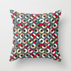 London Beauty target Throw Pillow