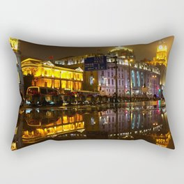 Reflections // Passages in time Rectangular Pillow