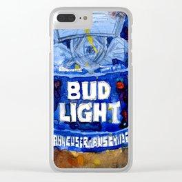 Bud Light - Budwiser American Beer Clear iPhone Case