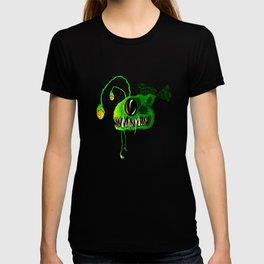 Deep Sea Creatures - The Angler Fish Green Fang T-shirt