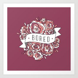 bored II Art Print