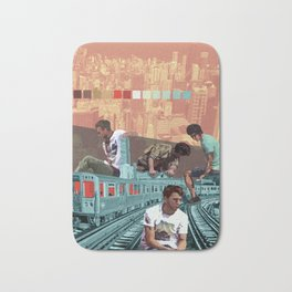 Chicago Red Line Bath Mat