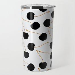 Black Cherries Travel Mug