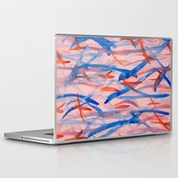 swim Laptop & iPad Skins featuring Swim by Sandra Arduini