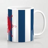 nautical Mugs featuring Nautical by Kathe Gravel