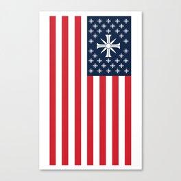 Far Cry - USA Cult Flag Canvas Print