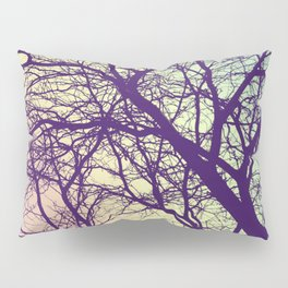 A Network of Tree Branches Pillow Sham