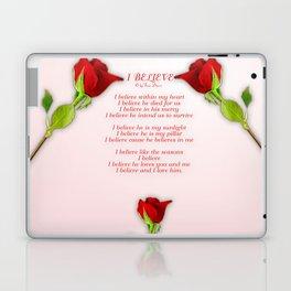 I Believe Laptop & iPad Skin