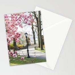 Spring in Central Park Stationery Cards