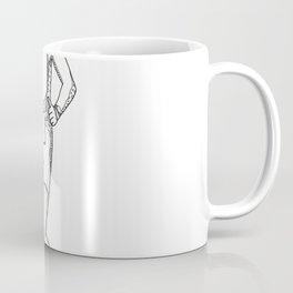 Marathon Running Doodle Art Coffee Mug