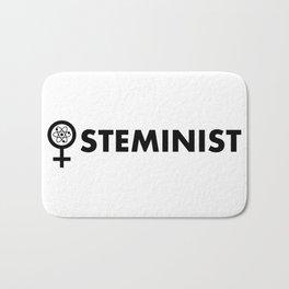 Steminist with symbol Bath Mat