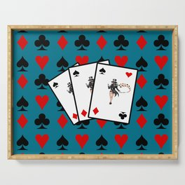 playing cards Serving Tray