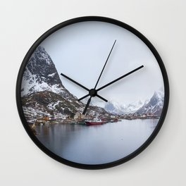 Reine pano Wall Clock