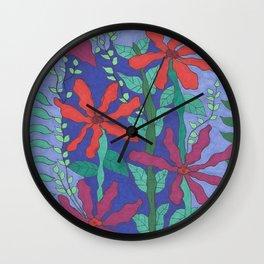 Life Under the Sea Wall Clock