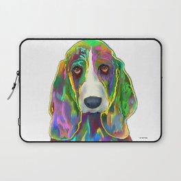 Basset Hound 3 Laptop Sleeve